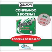 Golf Center Docena De Pelotas Srixon Soft Feel Promo 3x2 6c