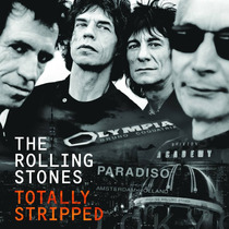 Rolling Stones Totally Stripped Deluxe 4 Blu-ray + Cd