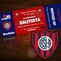 Pack 12 Invitaciones Personalizadas Fútbol / San Lorenzo