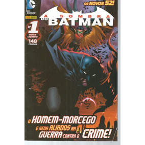 A Sombra Do Batman 01 Novos 52 - Panini- Bonellihq Cx442 H18