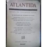Revista Atlántida Nº 18 Vii Centenario Nacimiento De Dante