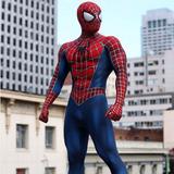 Roupa Cosplay Spider Man Homen Aranha Marvel Super Heroi
