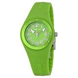 Momo Design Mirage Verde Verde Dial De Silicona Reloj De S
