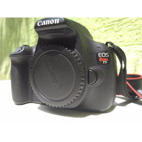 Máquina Fotográfica Kit Canon Rebel T5 Seminova Frete Grátis