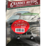 Grandes Autos Memorables Planeta De Agostini Atlántic #21