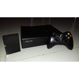 Xbox 360 Slim Disco Duro De 250 Gb Con 28 Juegos Chip 5.0