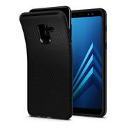 Funda Spigen Samsung A8 2018 Liquid Air Black