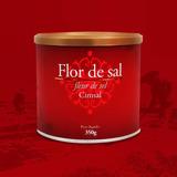 Flor De Sal 350g ( Kit Com 06 Unid.) Rico Em Sais Minerais