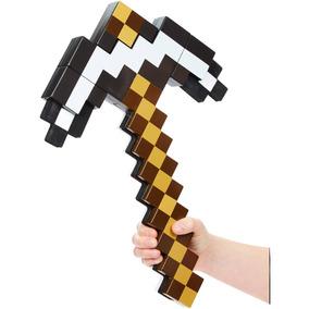 Espada Minecraft 2 Em 1 - Espada E Picareta - Mattel