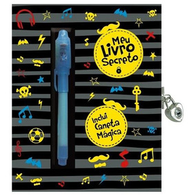 Meu Diario Secreto - Preto
