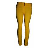Calça Jeans Feminina Em Lycra Várias Cores Cintura Média