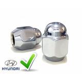 Porca Cromada Para Roda Hyundai I30 - Linha Pró