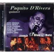 Paquito D'rivera Quintet - Live At The Blue Note - Imp Lacr.