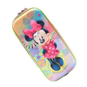 Lapicera Doble 3d Minnie Mouse Disney