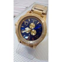 Relógio Nixon Dourado 51-30 Chrono Masculino - Funcional