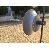 Kit Antena Para Celular Rural 3g Cubica 30dbi 1800/2100mhz