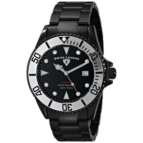 Reloj Swiss Legend 21344-bb-11-sb Luminous Black Ip