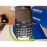 Nokia C3-00, Novo,original,desbloq, Anatel, Wi-fi, Rádio