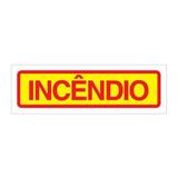Adesivo Incêndio P/ Caixa De Mangueira (hidrante)