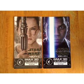Boletos Cine Imax Star Wars Tfa Rey Y Finn Semana 3 Y 4