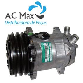 Compressor Universal 8 Orelhas 5h14 Polia 2a 12v - Novo