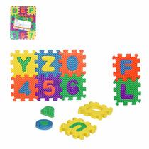Brinquedo Educativo - Quebra Cabeça Eva 36 Peças