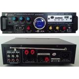 Amplificador Karaoke, Usb 5 Entradas 220/12 Volts Nuevo
