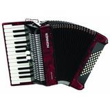 Hohner Accordions Br48r-n Acordeón Para Piano De 26...