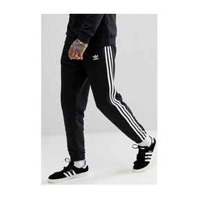 Pants Joggers Slim Fit Moda Unisex Franjas Blancas