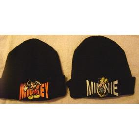 Gorros Lana Mickey Y Minnie Originales,impecables!