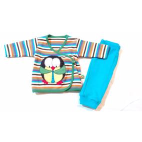 Conjunto Bata Y Pantalón Para Recién Nacido Varios Colores