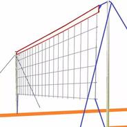 Red Futbol Tenis Beach Voley Playero 4 Metros Faja Superior - Para Playa Y Jardin - Para Adultos