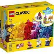 Lego Classic  Blocos Transparentes Criativos 500 Peças