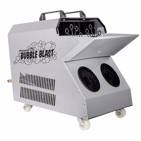 Máquina Burbujas Doble Ventilador, American Dj Bubble Blast
