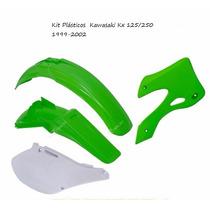 Kit Plásticos Kawasaki Kx 125/250 1999-2002