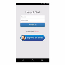 Plantilla Chatspot Mikrotik Hotspot Theme Chat De Soporte