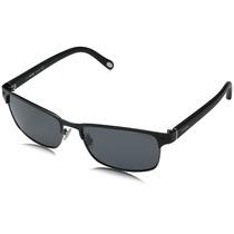Gafas De Sol Fossil Fos3000ps Lente Gris Marco Negro