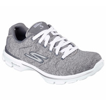 Zapatos Skechers Para Damas Go Walk 3 - Integra 14062 - Gry