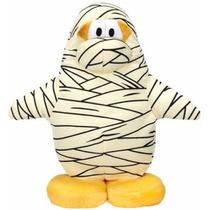 Peluche Original Pinguino Momia Club Penguin Disney 20cm