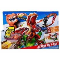 Pista Hot Wheels - Ataque Dinossauro T-rex (frete Gratis)