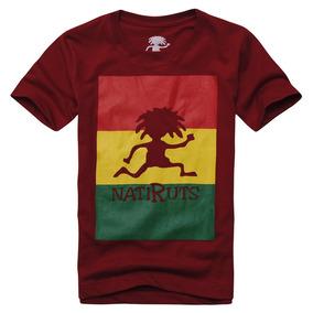 Camiseta Infantil Natiruts Roots Vermelha