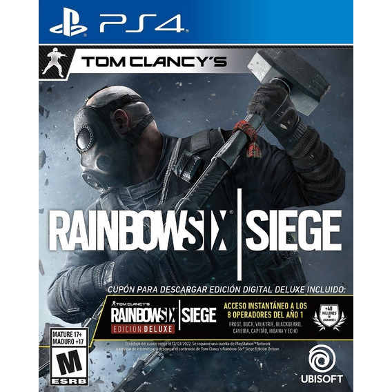 Tom Clancy's Rainbow Six Siege Deluxe Edition Ps4 Fisico