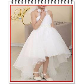 Vestido Primera Comunion Gala Niña Fiesta Princesas Bebes