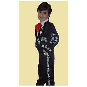 Disfraz De Niño De Charro Traje Típico 3 A 12 Años