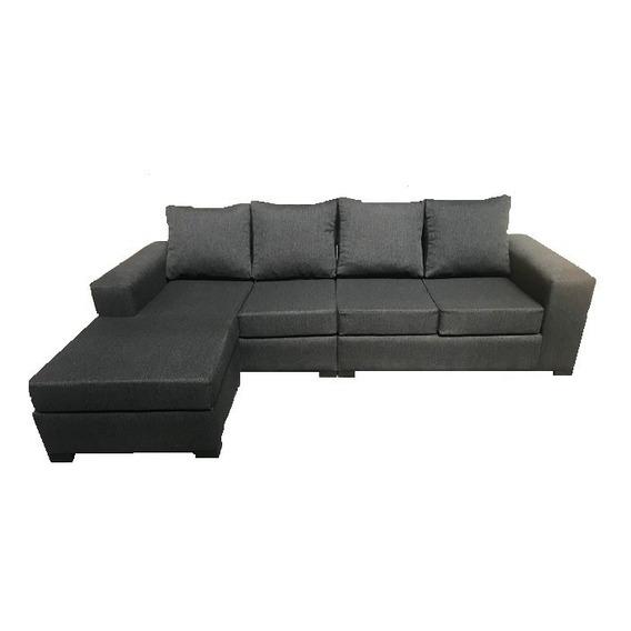 Sillon Sofa Esquinero 250 X 160 Reversible Chenille + Cuotas