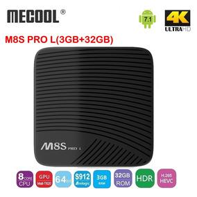 Mecool M8s Pro L 4k Tv Box (3gb-32gb)
