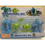 Blister Con 4 Muñecos De La Pelicula Monsters Inc