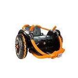 Power Wheels 360 Wild Thing Naranja Y Rosa
