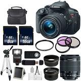 Canon Eos Rebel T5i 18 Mp Cmos Cámara Slr Digital Con Efs 1