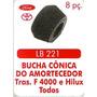 Bucha Conica Do Amortecedor Traseiro F-4000/ Hilux, 08 Peças